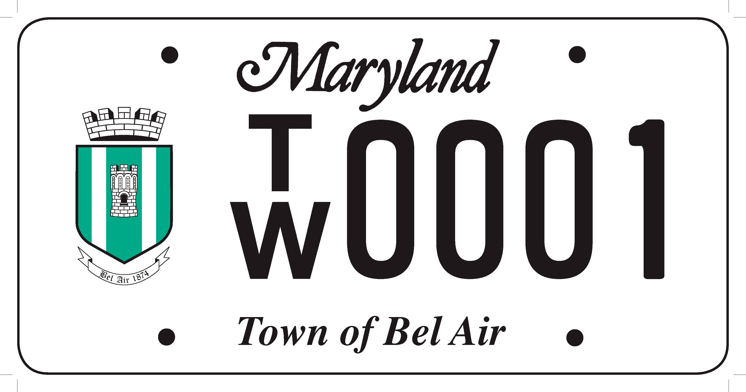 Bel Air License Plate Final