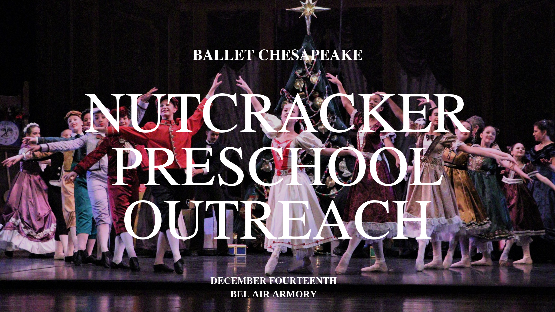 nutcracker outreach preschool
