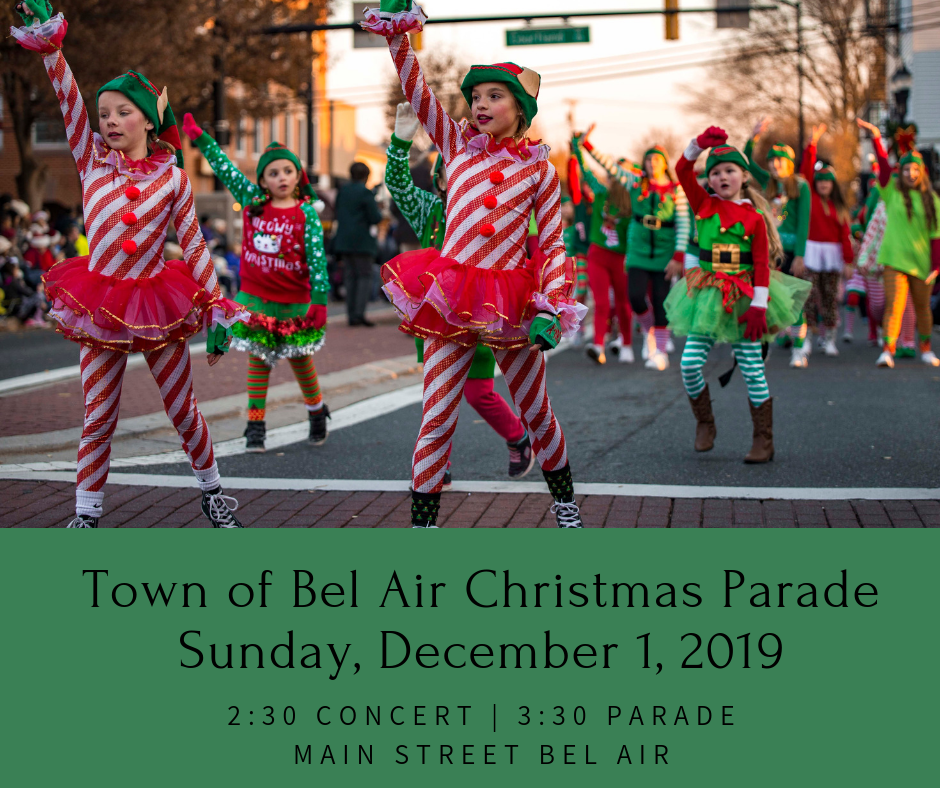 Christmas Parade Town Of Bel Air Md Official Website
