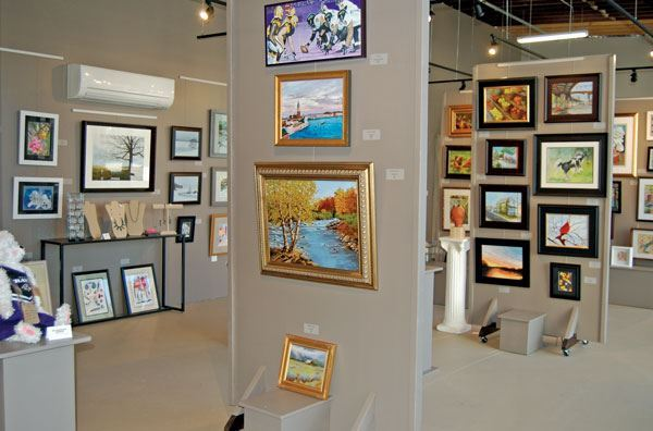 Marketplace Page Harford Artists
