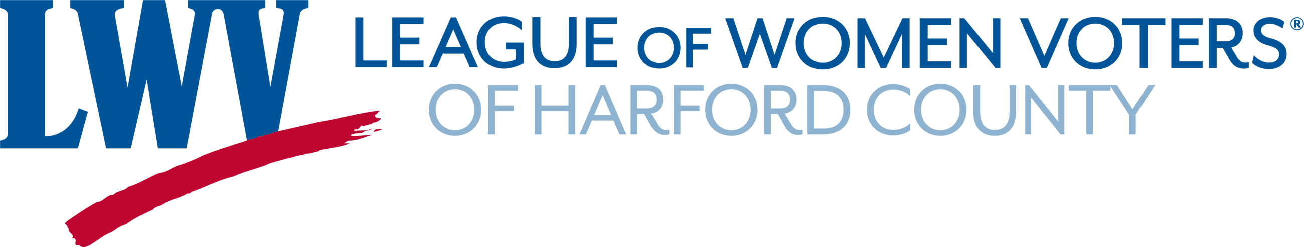 League of Women Voters Harford County Logo Opens in new window